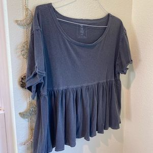 Free People Peplum Top